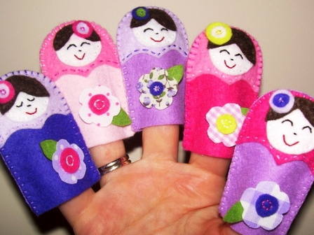пальчиковые куклы из перчаток своими руками