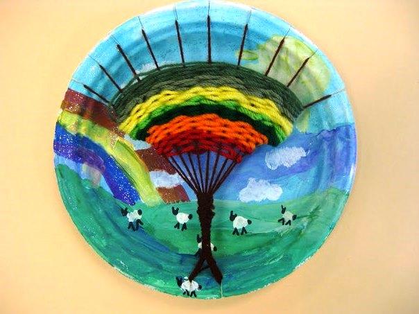 Дерево - детская поделка http://podelkidlyadetei