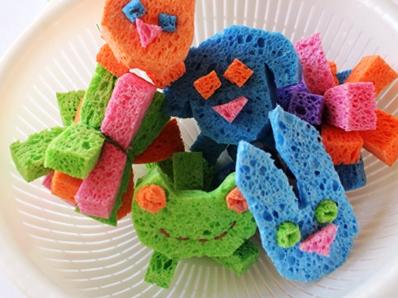 Поделки из губки для детей