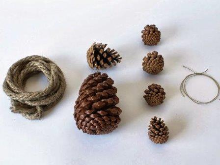 Осенние поделки из шишек (9)