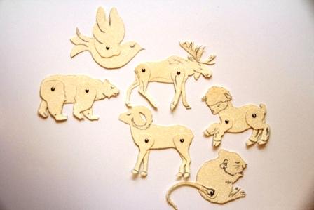 Животные из картона (4)
