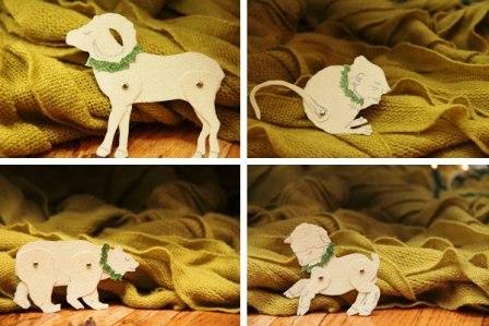 Животные из картона (6)