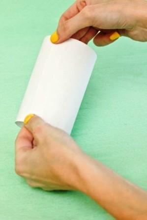 Зайчик из бумаги своими руками (3)