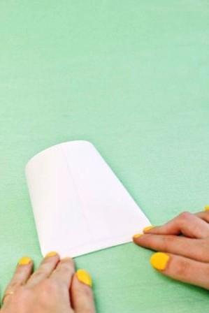 Зайчик из бумаги своими руками (4)