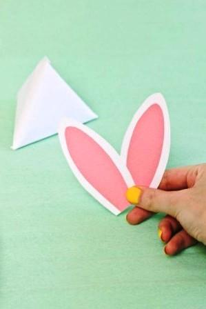 Зайчик из бумаги своими руками (10)