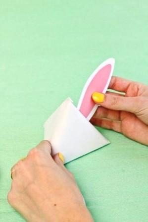 Зайчик из бумаги своими руками (12)