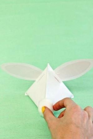 Зайчик из бумаги своими руками (13)
