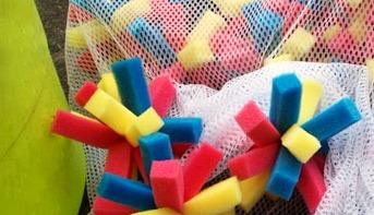 Игрушки из губки (1)