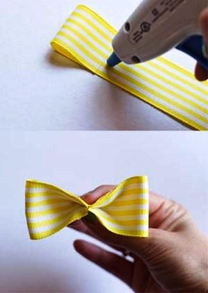 Как сделать бантик своими руками (4)