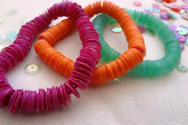 Фото как сделать красивые браслеты из