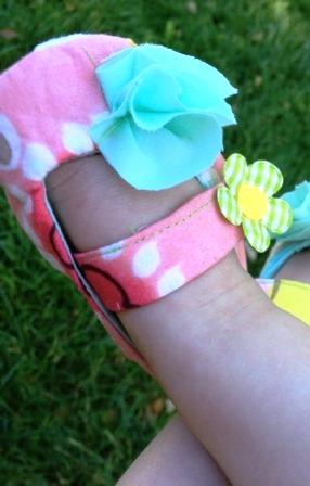 Обувь для малыша своими руками