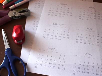 детский календарь своими руками (2)