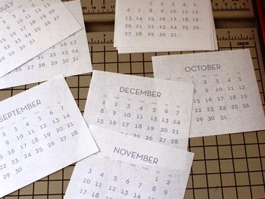Календарь детям своими руками