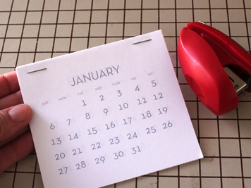 детский календарь своими руками (4)