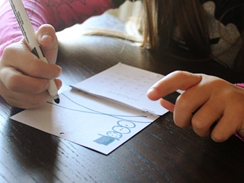 детский календарь своими руками (6)