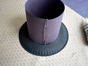 как сделать шляпу цилиндр (5)