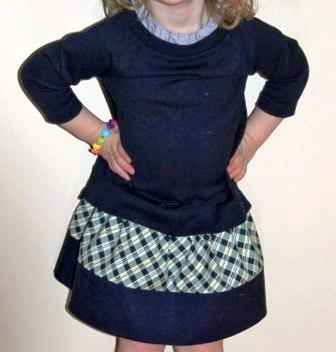 Как сшить юбку ребенку