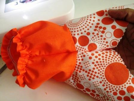 Летнее платье для девочки (24)