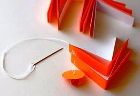 Бумажные украшения на Новый Год (4)
