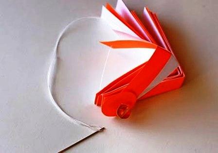 Бумажные украшения на Новый Год (5)