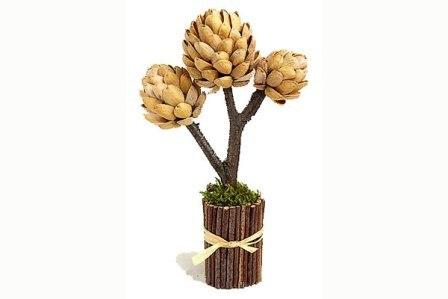 Дерево из фисташковой скорлупы (6)