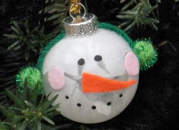 Из чего можно сделать снеговика (12)