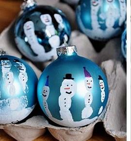 Из чего можно сделать снеговика (15)