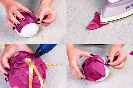 Новогодние игрушки шарики (4)