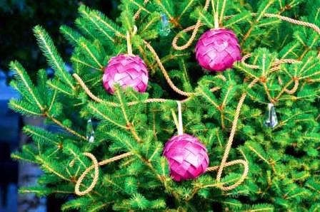 Новогодние игрушки шарики (7)