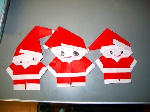 Бумажный Дед Мороз (1)