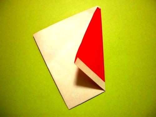 Бумажный Дед Мороз (5)