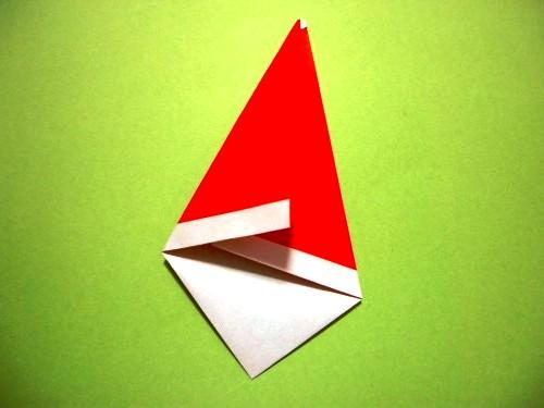 Бумажный Дед Мороз (6)
