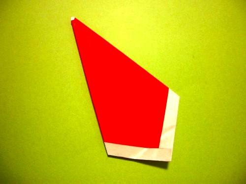 Бумажный Дед Мороз (7)