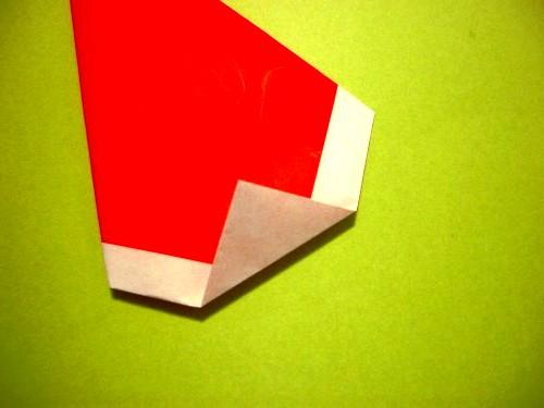 Бумажный Дед Мороз (8)