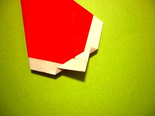 Бумажный Дед Мороз (9)