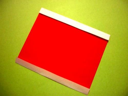 Бумажный Дед Мороз (11)