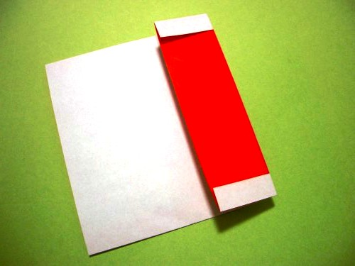 Бумажный Дед Мороз (15)