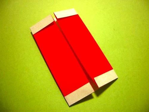 Бумажный Дед Мороз (16)