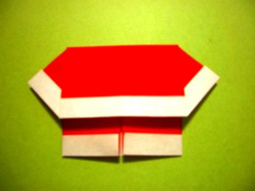 Бумажный Дед Мороз (20)