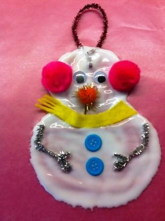 Из чего можно сделать снеговика (1)