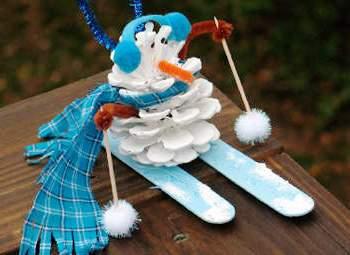 Из чего можно сделать снеговика (2)
