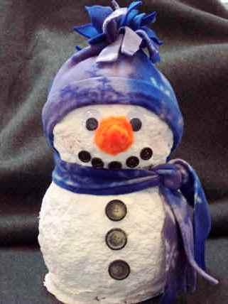 Из чего можно сделать снеговика (3)