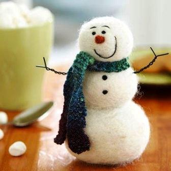 Из чего можно сделать снеговика (4)