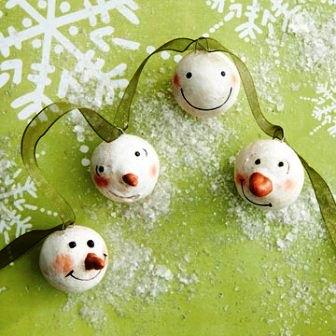 Из чего можно сделать снеговика (6)