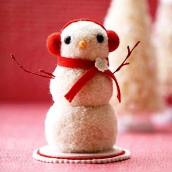 Из чего можно сделать снеговика (8)
