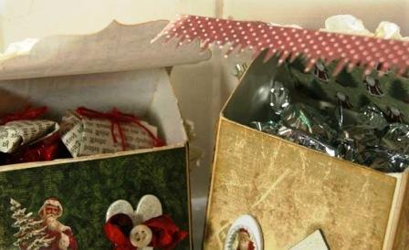 Как сделать новогодний домик (6)