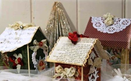 Как сделать новогодний домик (7)