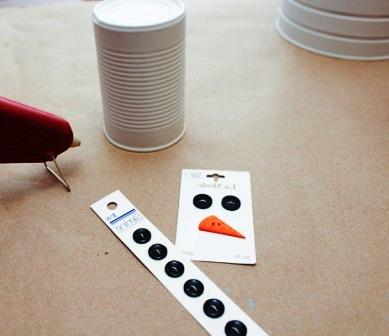 Креативный снеговик своими руками (3)