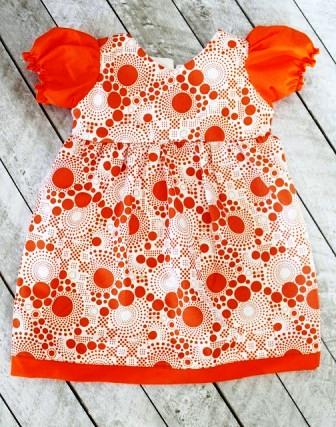 Летнее платье для девочки. Мастер-класс.