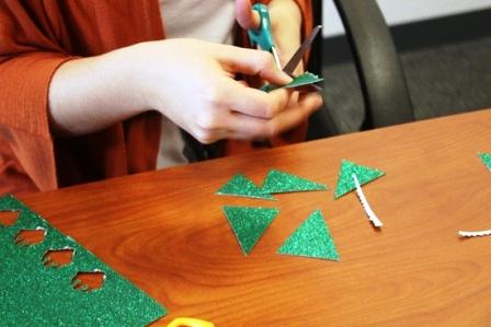 украшения на елку из бумаги (2)